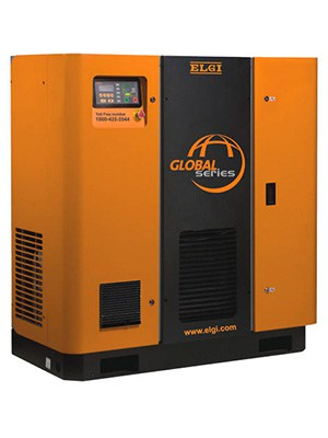 ELGI 22kW 10-Bar with integrated dryer
